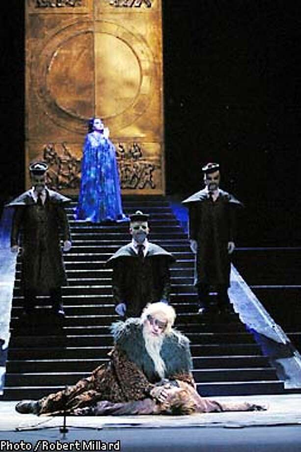 May 23, 2002; Los Angeles, CA, USA; 'Turandot' - Dress Rehearsal Mandatory Credit: Photo by Robert Millard/LA Opera.  (�) Copyright 2002 by Robert Millard  (HANDOUT PHOTO) Photo: HANDOUT