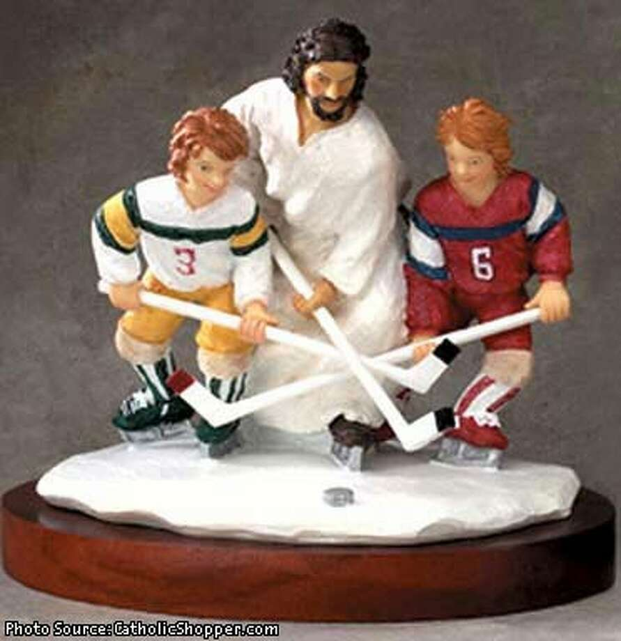 jesus statues got game inspirational figurines depict christ as
