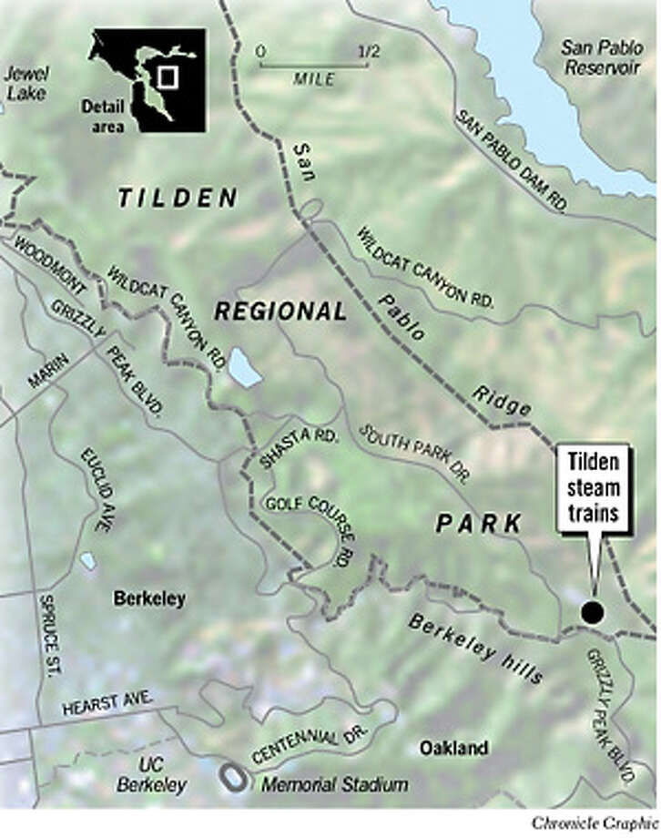 Tilden Steam Trains. Chronicle Graphic