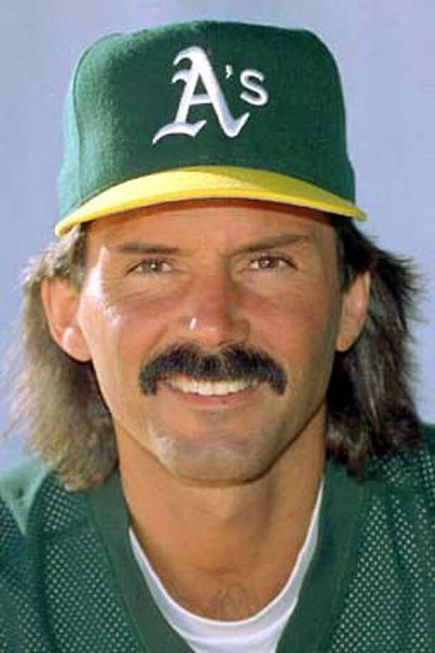 FILE--Oakland Athletics closer Dennis Eckersley, shown in this 1995 file photo, has told the team he wants to go to the St. Louis and be reunited with manager Tony La Russa. Eckersley, 41, ``expressed a desire to go to St. Louis,'' in a conversation with A's general manager Sandy Alderson. (AP Photo/File)