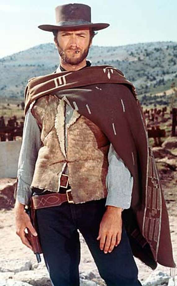 "(NYT17) UNDATED -- May 21, 2003 -- Adv. for Sunday, May 25 -- GOOD-BAD-UGLY -- It is with vastness and stillness that Sergio Leone's ``The Good, the Bad and the Ugly'' excites an audience, and those qualities are gloriously, thrillingly evident in the newly restored version, 35 years after its initial New York run. Clint Eastwood (the Good) in a restored scene from ""The Good, the Bad and the Ugly."" (MGM/The New York Times) **ONLY FOR USE WITH STORY BY ELVIS MITCHELL SLUGGED: GOOD-BAD-UGLY. ALL OTHER USE PROHIBITED. XNYZ, HFO, **ONLY FOR USE WITH STORY BY ELVIS MITCHELL SLUGGED: GOOD-BAD-UGLY. ALL OTHER USE PROHIBITED. Photo: MGM"