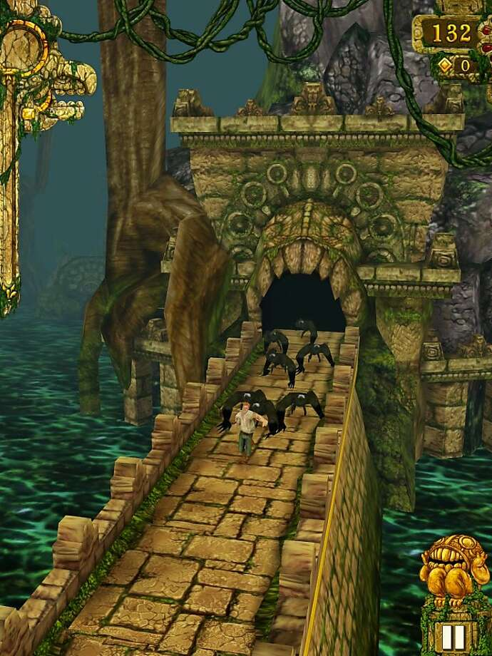 Temple Run By Imangi Studios for iPad. Photo: Imangi Studios