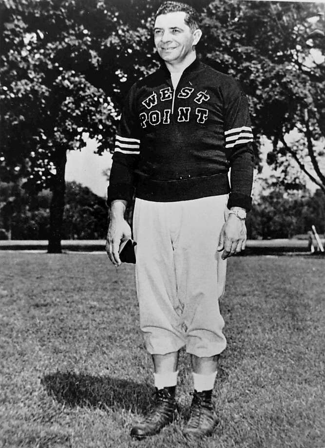 Hall of Fame coach Vince Lombardi. Lombardi was an assistant football coach at the United States Military Academy at West Point starting in 1948 until 1952. (Photo by U.S. Military Academy/Getty Images) Photo: U.S. Military Academy