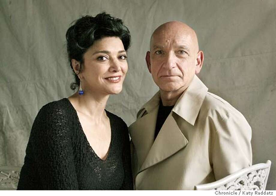 """House of Sand and Fog"" is a movie starring Sir Ben Kingsley and Shohreh Aghdashloo, who are shown in this portrait. KATY RADDATZ / The Chronicle Photo: KATY RADDATZ"