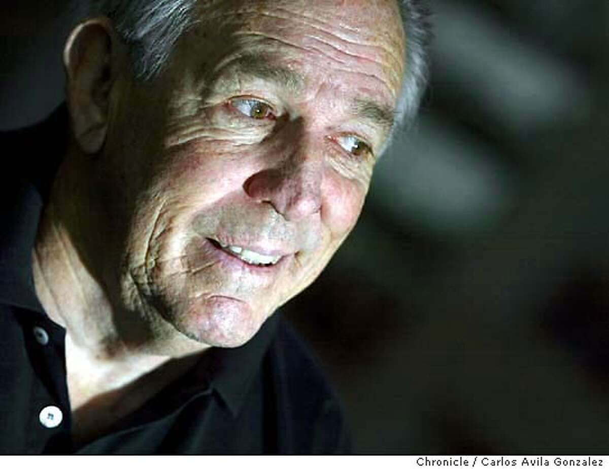 Former 49ers quarterback John Brodie, 68, had a horrible stroke 3 years ago, and has spent years doing rehab to regain physical strength as well as some of the speech he lost. Brodie is seen here in his La Quinta, Ca., home on Thursday, December 18, 2003. Photo taken on 12/18/03, in La Quinta, CA Photo by Carlos Avila Gonzalez / The San Francisco Chronicle