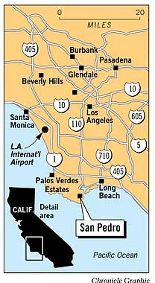 San Pedro. Chronicle Graphic