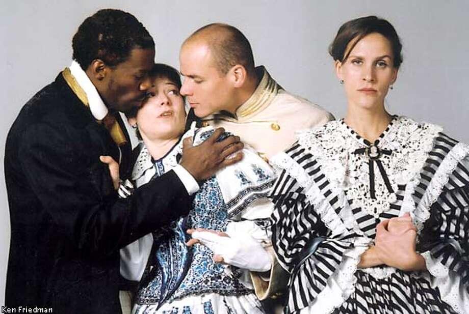 "Colman Domingo, left, Delia MacDougall, Sky Soleil and Susannah Schulman in ""A Midsummer Night's Dream.''"