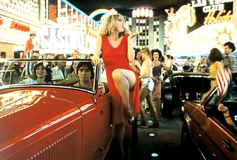 "COPPOLA31  Scene from the movie ""One From the Heart."" &quo;One From the Heart&quo; featured an idealized Las Vegas set, above, and starred Teri Garr and Raul Julia, below. Francis Ford Coppola's film was panned by critics in its first release in 1982, but is being rereleased. Photo: HO"