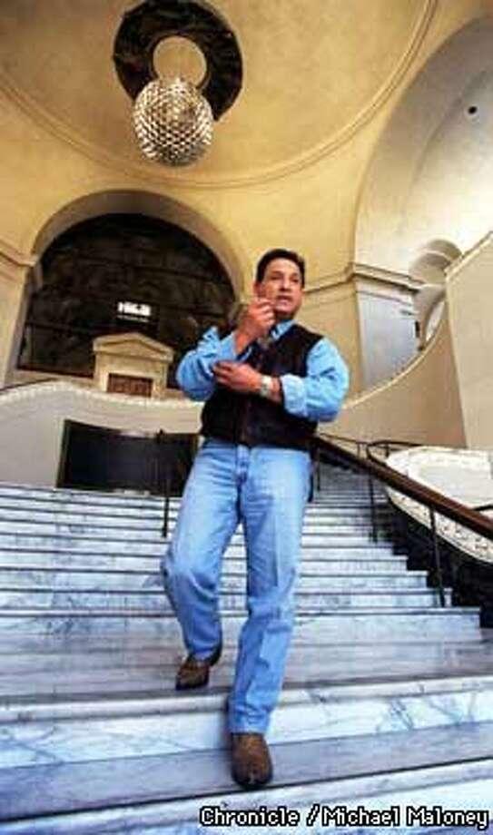 City Council member Ignacio De La Fuente in the rotunda of the Oakland City Hall.  Photo by Michael Maloney Photo: MICHAEL MALONEY