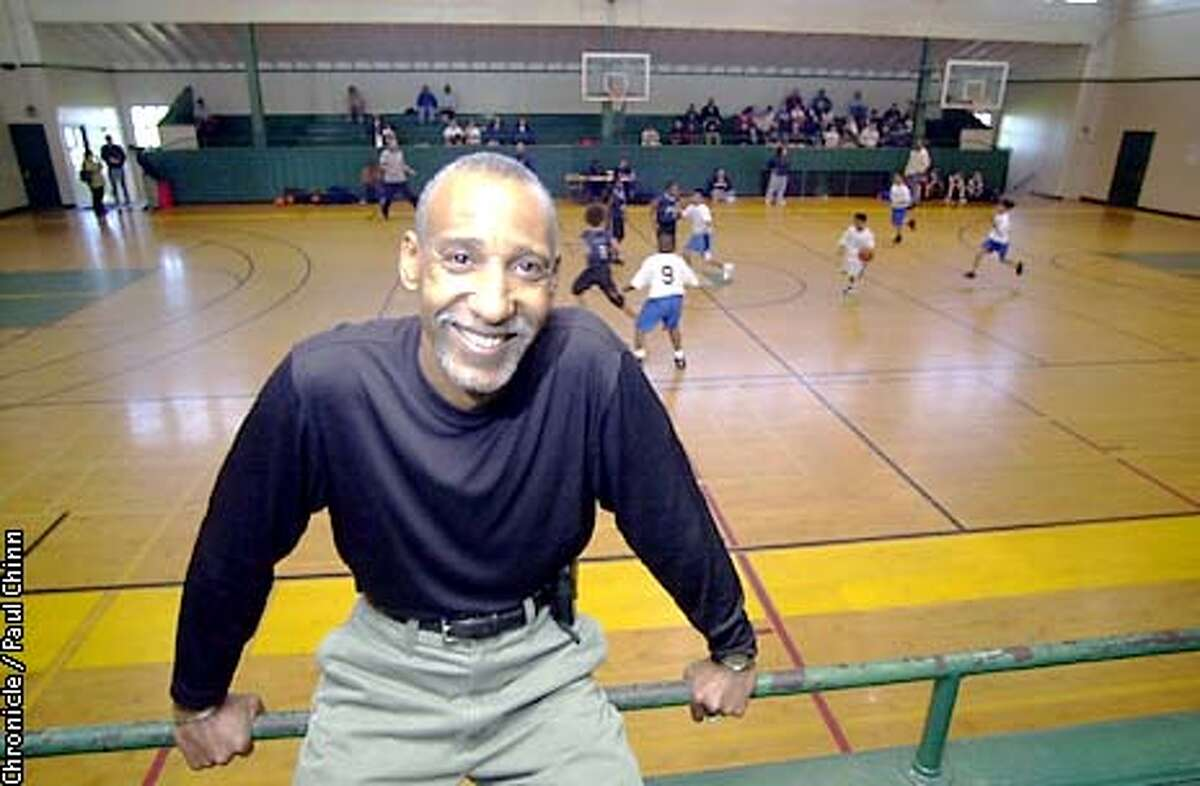Former USF basketball player Joe Ellis is one of the directors at the Palega Recreation Center. PAUL CHINN/S.F. CHRONICLE