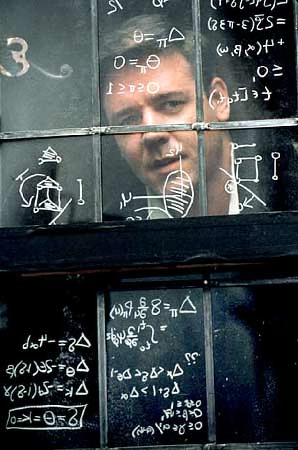 Russell Crowe in A BEAUTIFUL MIND Photo: HANDOUT