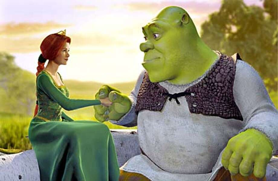 "DreamWorks plans to lobby for ""Shrek"" in both the best animation and the best picture Oscar categories."