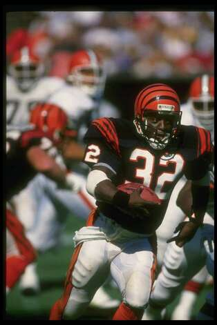 21. Coke and the Super Bowl – Super Bowl XXIII: Cincinnati running back Stanley Wilson went on a cocaine bender the night before the game and missed the Bengals' loss to the 49ers. Photo: Allen Steele, Getty Images / Getty Images North America