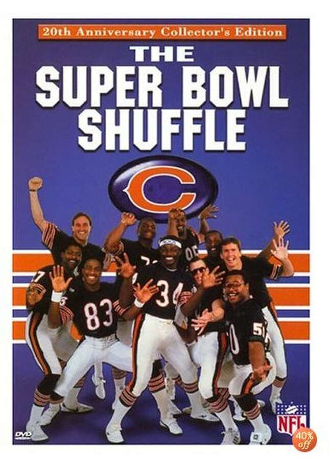 22. The Super Bowl Shuffle – Super Bowl XX: Bad rap song, bad dancing, but great, cocky attitude. Meet the 1985 Chicago Bears. They went 15-1 in the regular season and stormed to a Super Bowl title. But days BEFORE their victory over New England, the Bears recorded the video and song, which became a pop culture phenomenon. The song reached No. 41 on the Billboard Hot 100 charts and was nominated for a Grammy Award. Photo: DVD