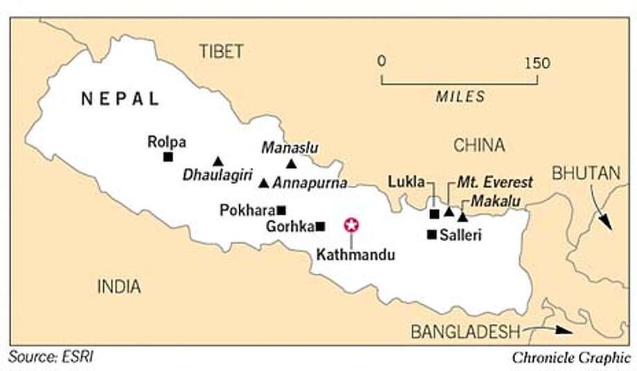 Nepal. Chronicle Graphic