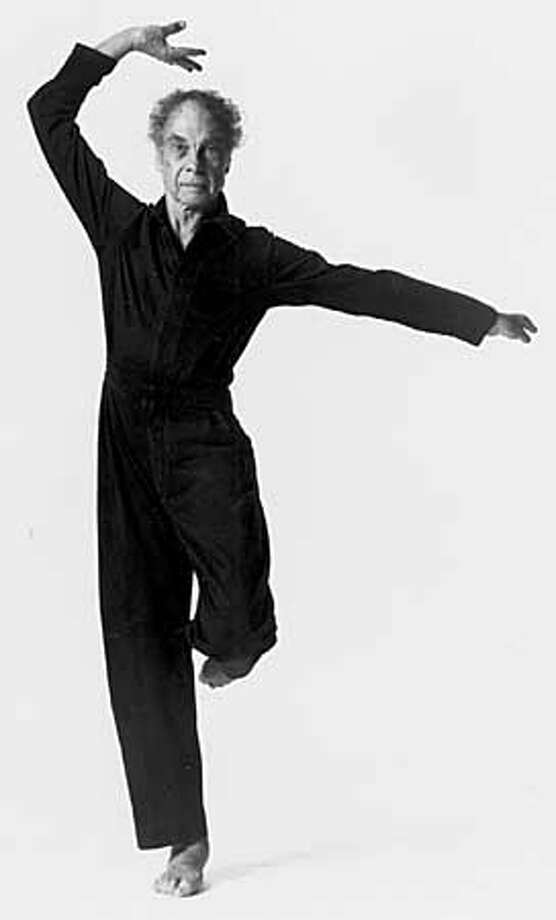 Dancer Merce Cunningham, 1992. PHOTO CREDIT: LOIS GREENFIELD Photo: HANDOUT
