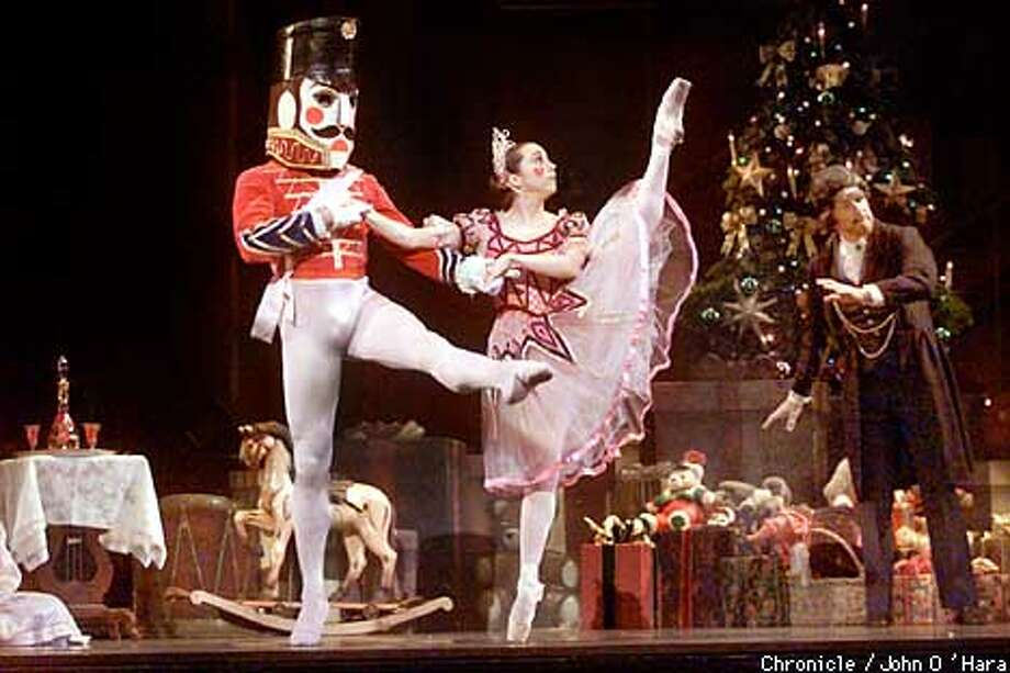 "Paramount Theater, Oakland CA  Oakland Ballet, ""Nutcracker"" Dec 14 thru 24  part of Emsemble cast, no program was available these dancers names were not available to me last night, (I'll follow up WED for names photo/John O'Hara Photo: John O'Hara"
