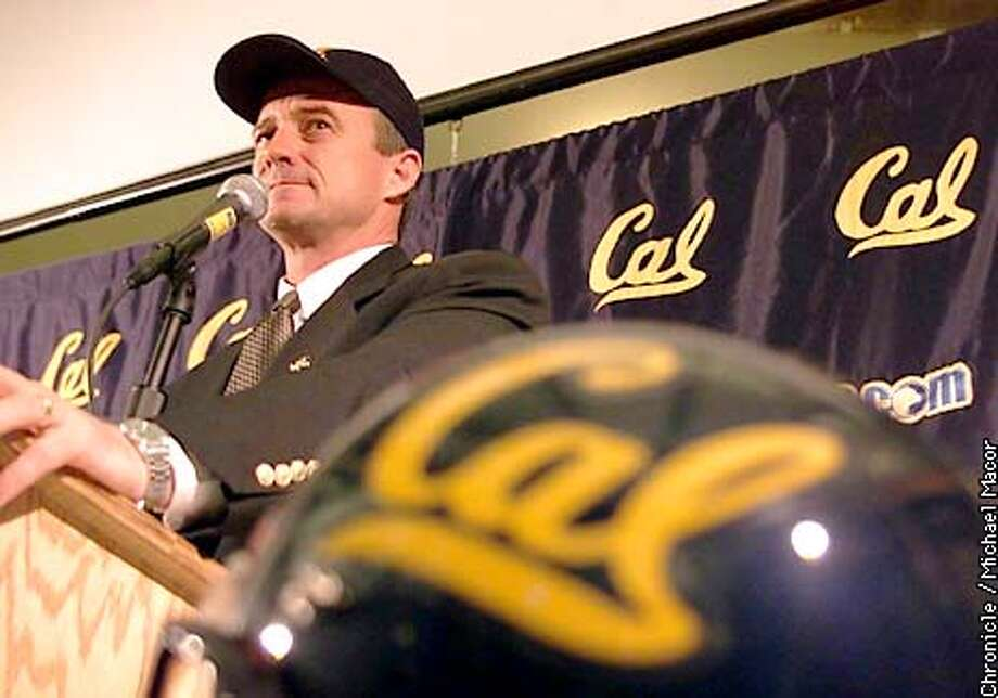 CALFOOTBALL1-C-12DEC01-SP-MAC Jeff Tedford of Oregon named the new Head Football Coach today at UC Berkeley. Press conference held to make the announement. by Michael MAcor/The Chronicle