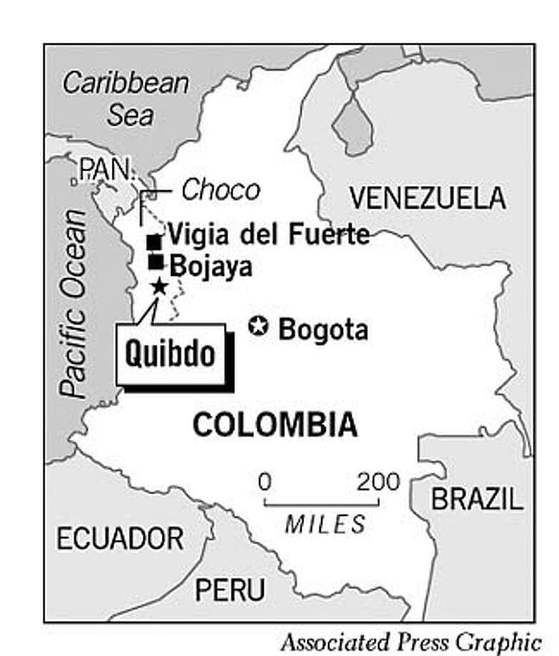 Colombia. Associated Press Graphic