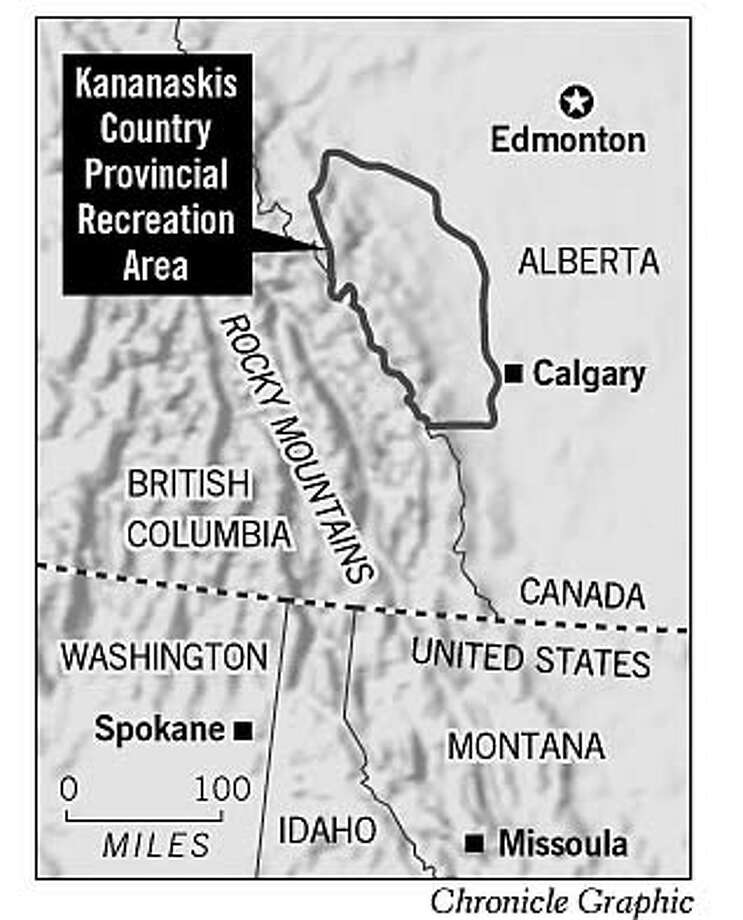 Kananaskis Country Provincial Recreation Area. Chronicle Graphic