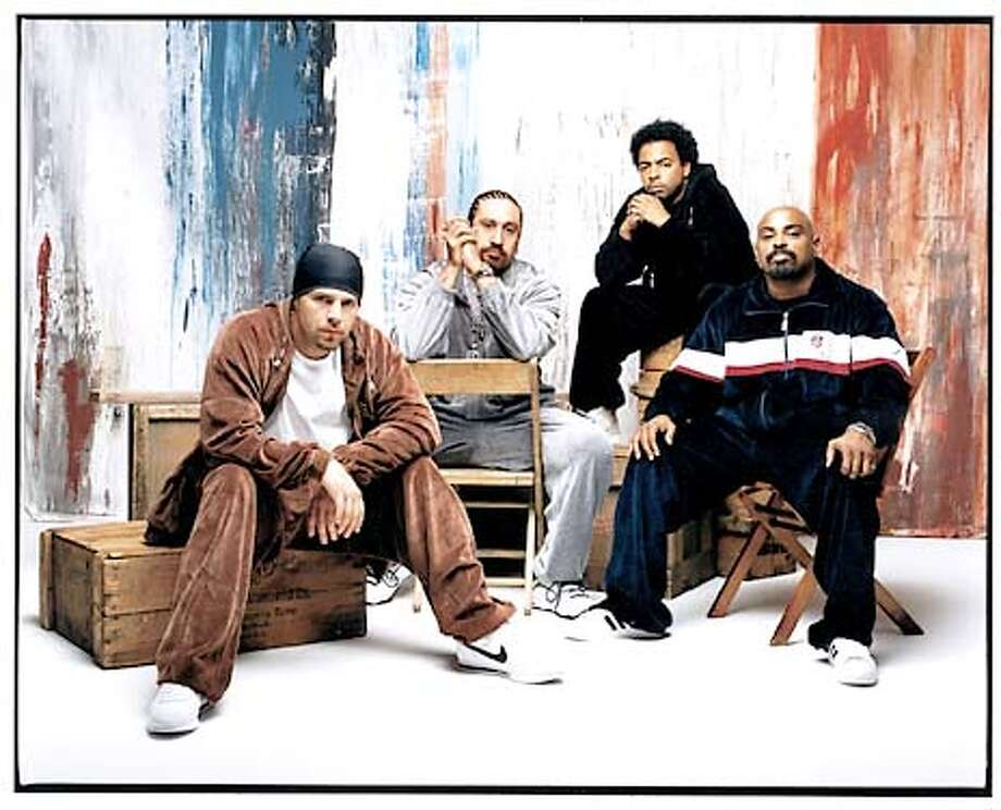 Cypress Hill photos.... B-Real in the photos is... 2nd from left . HANDOUT.