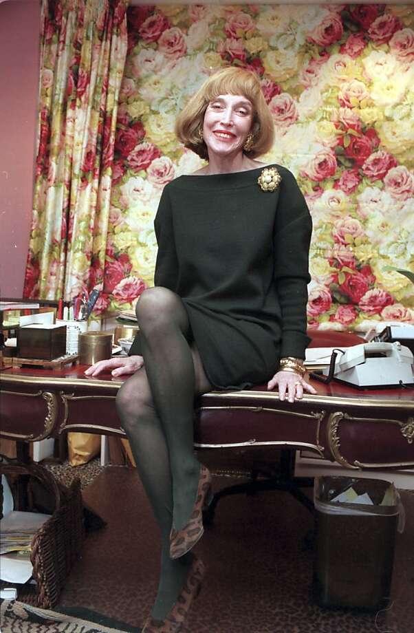 Helen Gurley Brown in 2005. Photo: Marty Lederhander, AP
