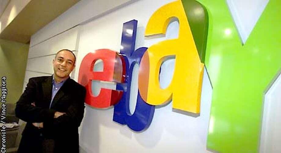 Rajiv Dutta ,CFO of eBay  by Vince Maggiora Photo: VINCE MAGGIORA