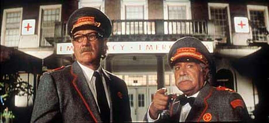 Gene Hackman and Kumar Pallana in the Royal Tennenbaums.