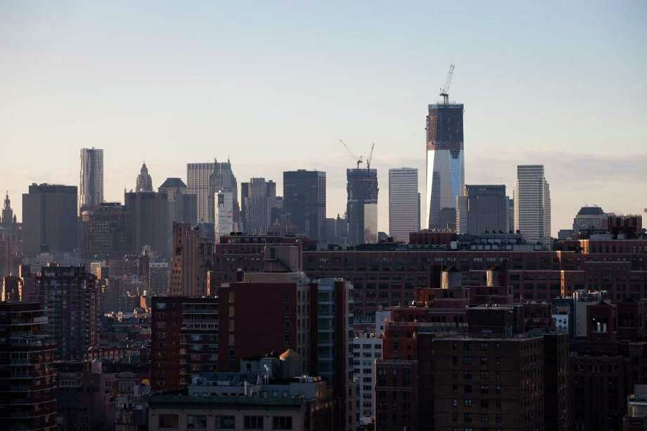New York City, the international center of finance, tops the list for concentration of wealthiest individuals with 7,720. Photo: Mark Lennihan, Associated Press / AP