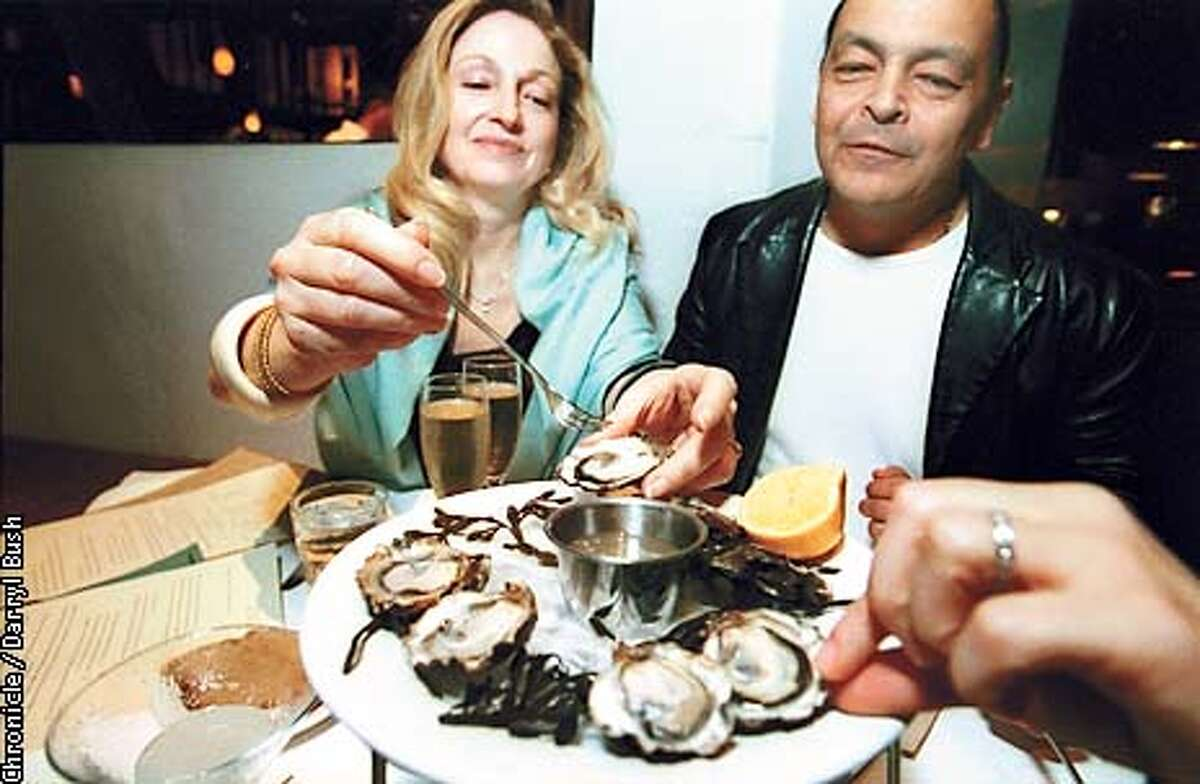 Oysters on the half shell. Chronicle photo by Darryl Bush