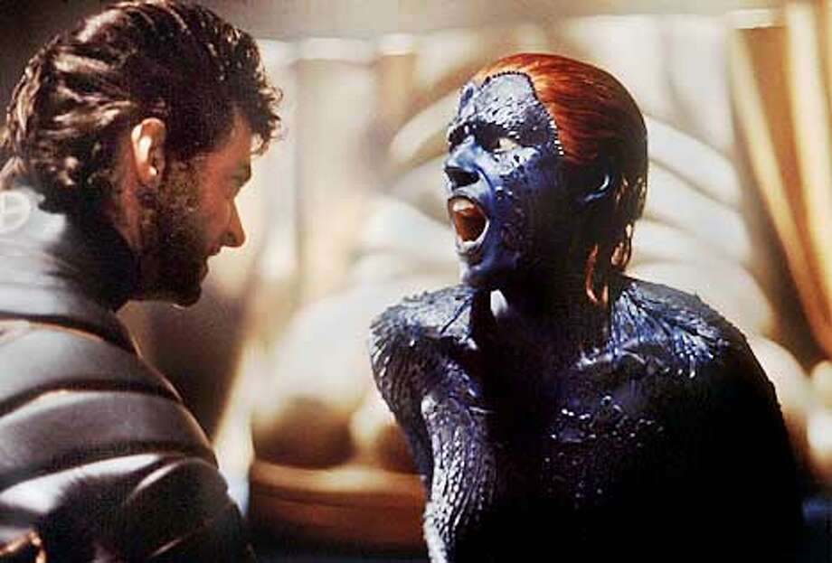 "Rebecca Romijn-Stamos had her big film role playing mutant Mystique in ""The X-Men."""
