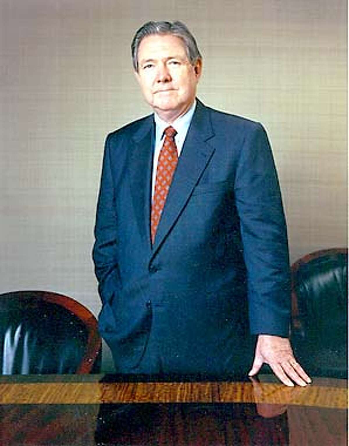 THIS IS A HANDOUT IMAGE. PLEASE VERIFY RIGHTS. Frank A. Bennack Jr. will retire next June as president and chief executive officer of The Hearst Corporation. Undated handout photo