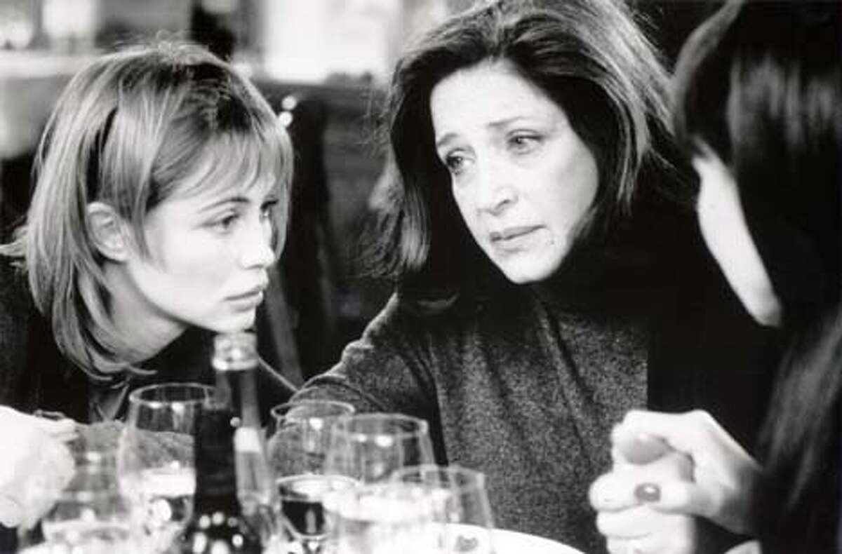 """Emmanuelle Beart and Francoise Fabian in """"La Buche"""": A French family airs its secrets"""