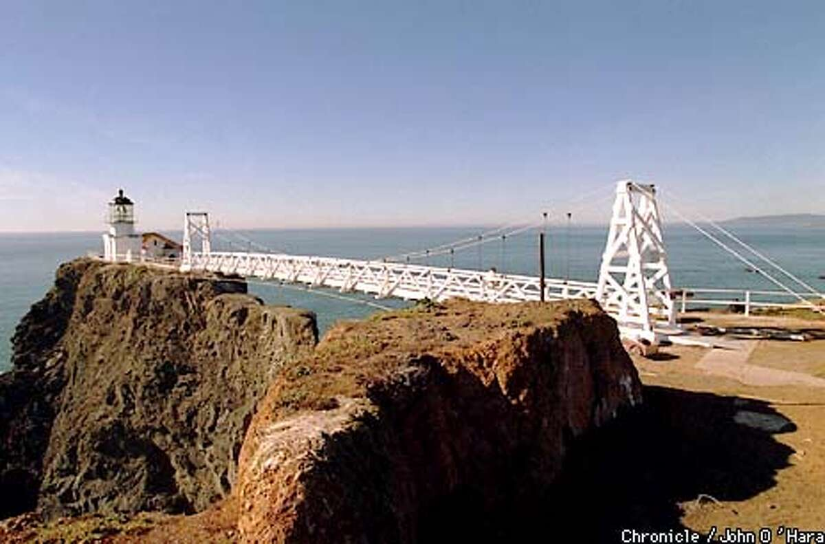 Point Bonita Lighthouse, about to ber reopened. Photo by..............John O'Hara