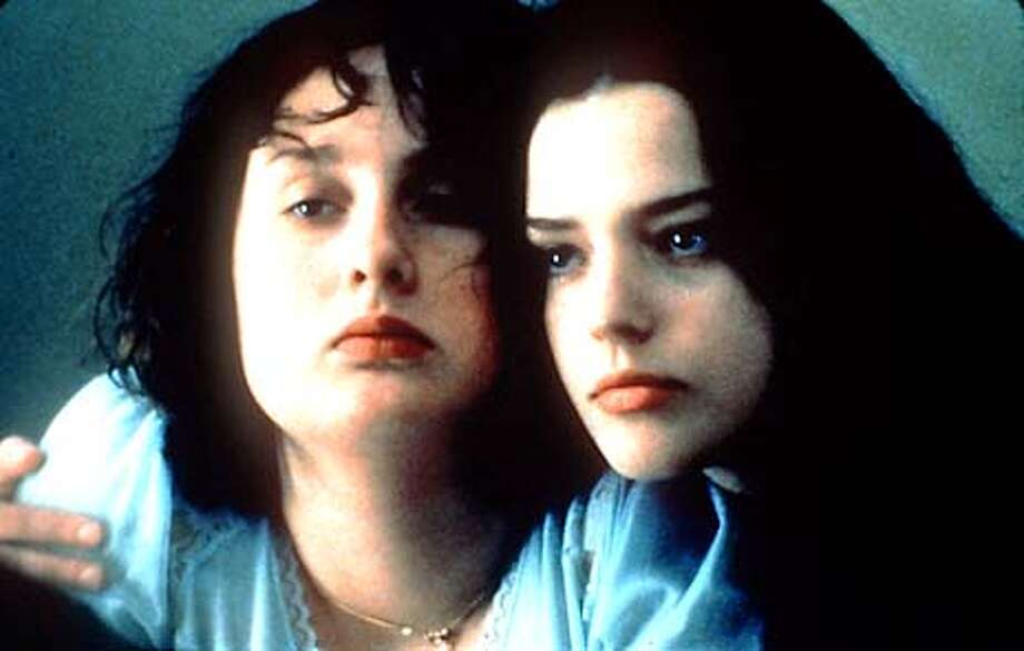 Anais Reboux, right, is Roxanne Mesquida in FAT GIRL. Photo: HANDOUT