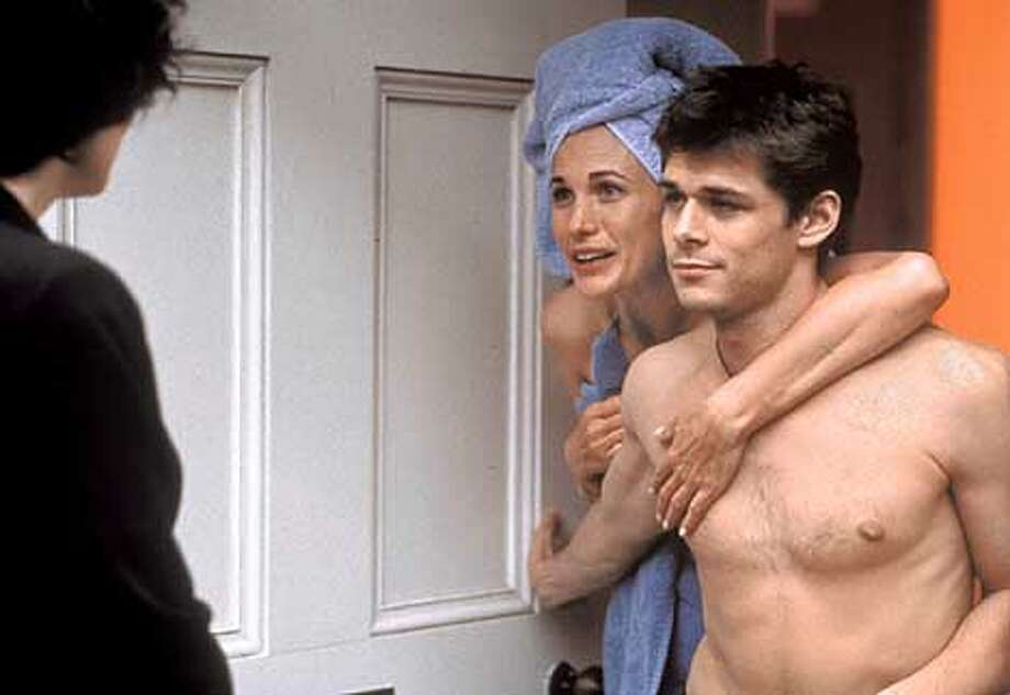Andie MacDowell as Kate and Kenny Doughty as Jed in CRUSH Photo: HANDOUT