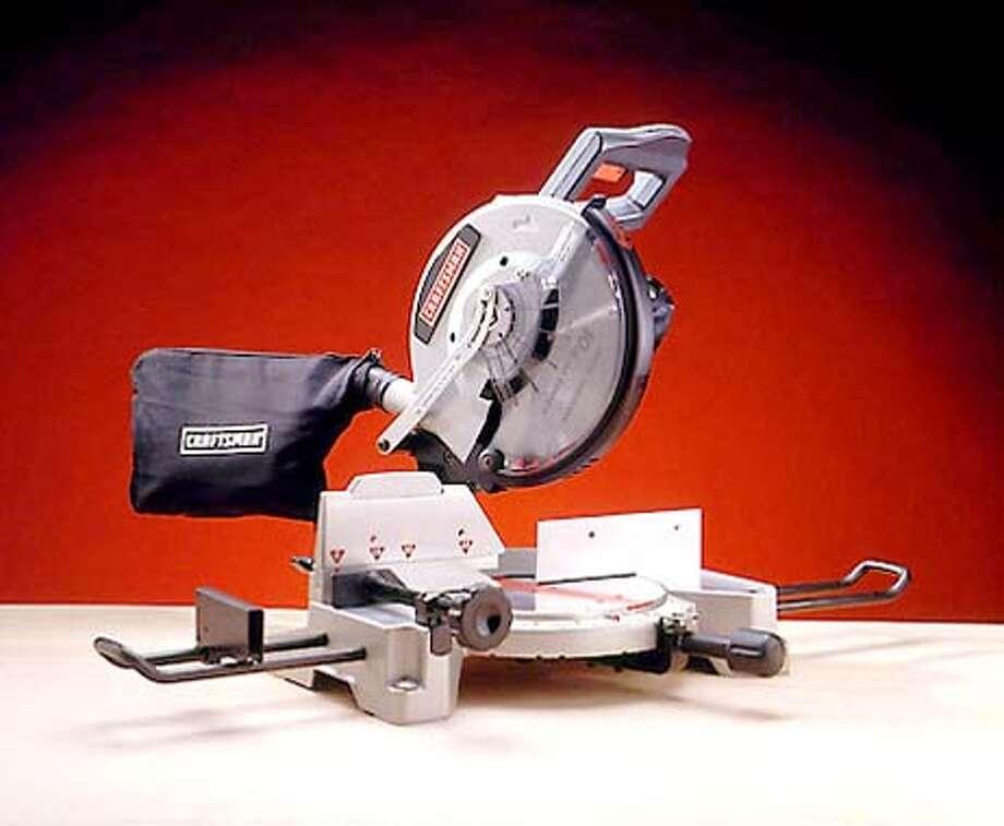 Craftsman Laser Trac saw  (HANDOUT PHOTO) Photo: HANDOUT