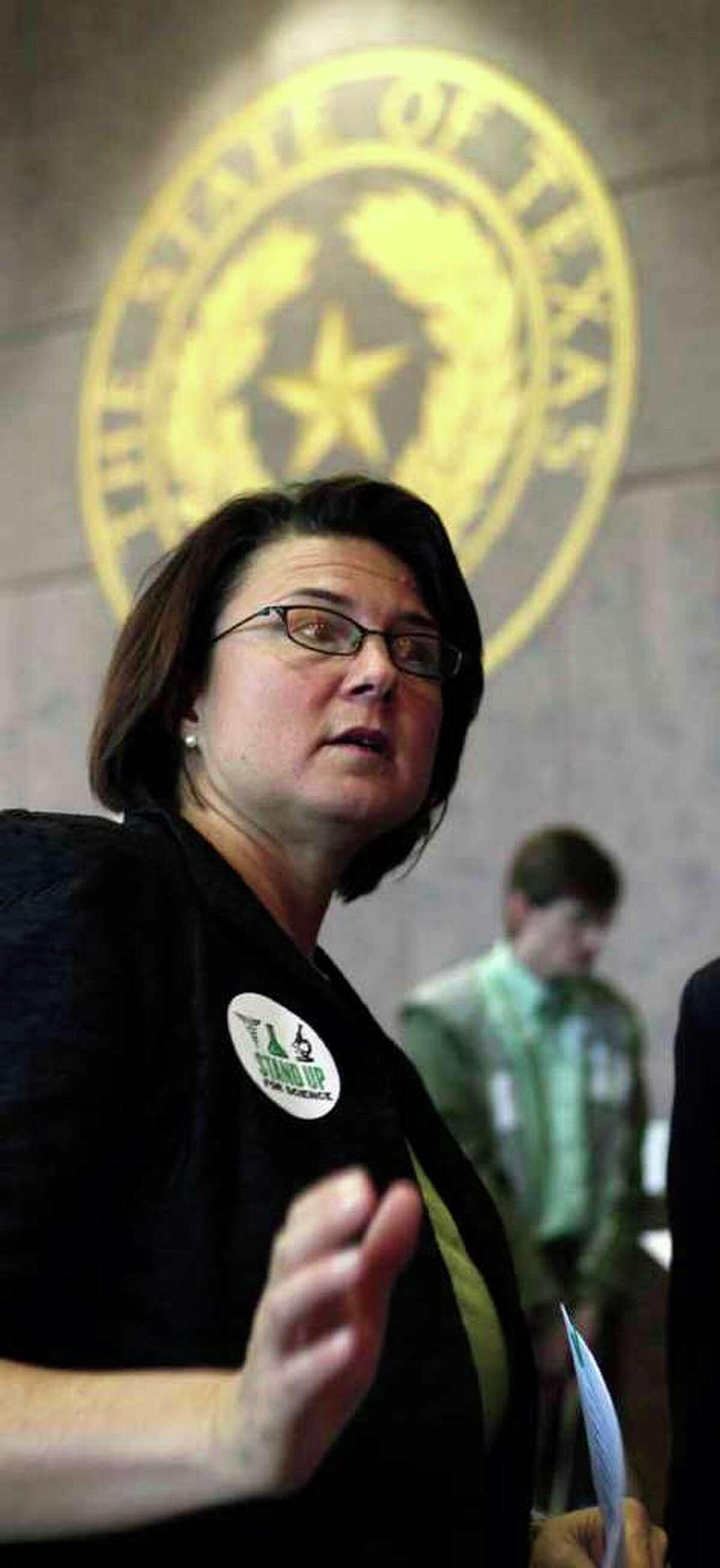 Kathy Miller, Texas Freedom Network president, says the state's weak score