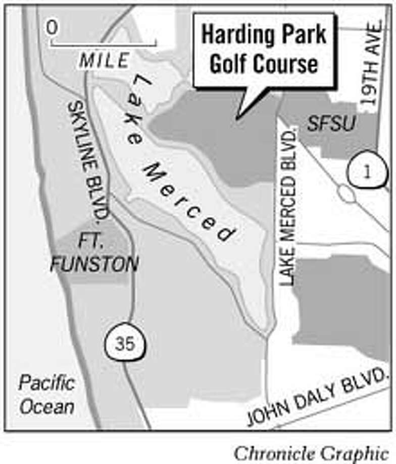 Harding Park Golf Course. Chronicle Graphic