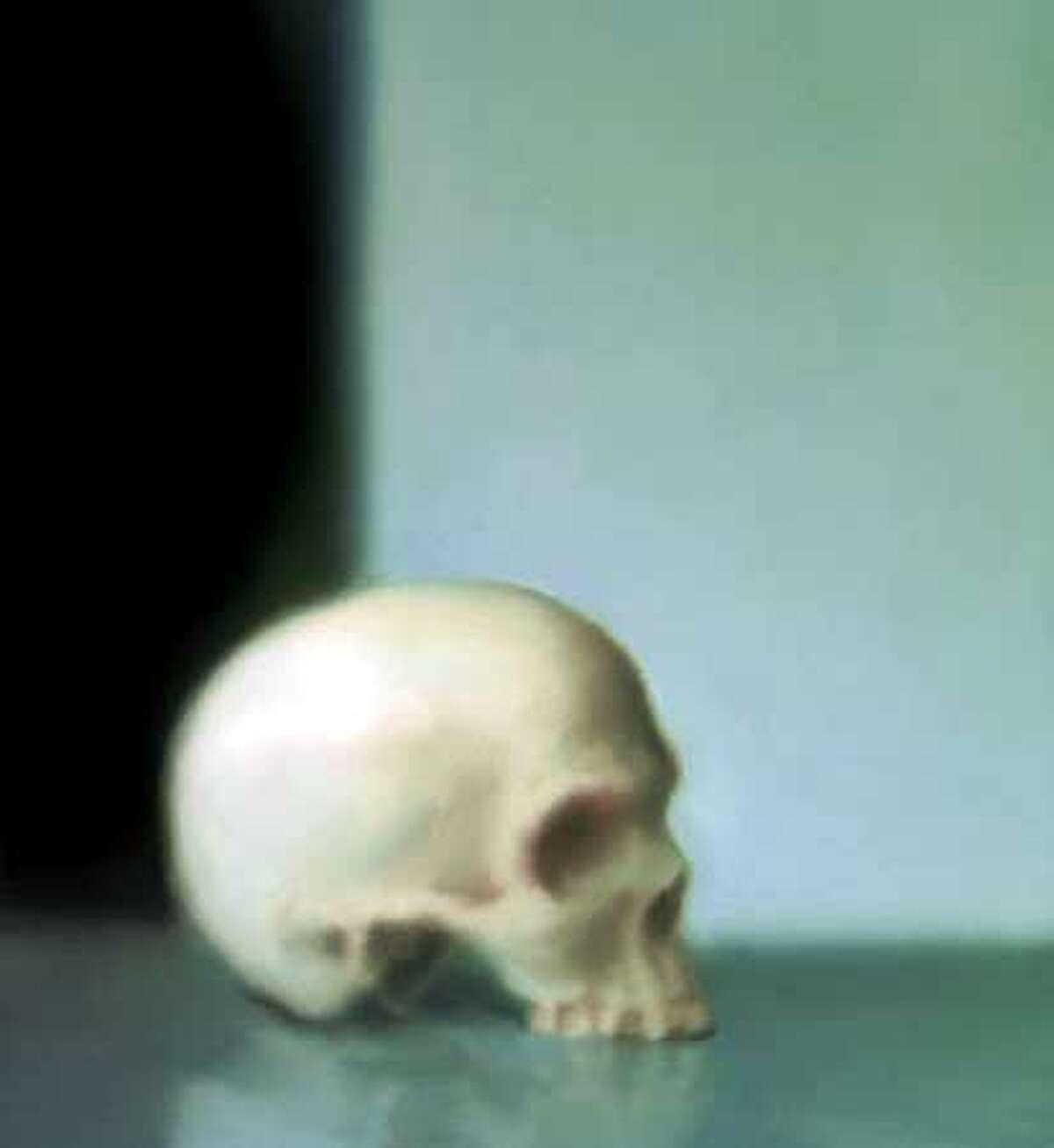 Richter Gerhard Skull Oil on canvas (HANDOUT PHOTO)