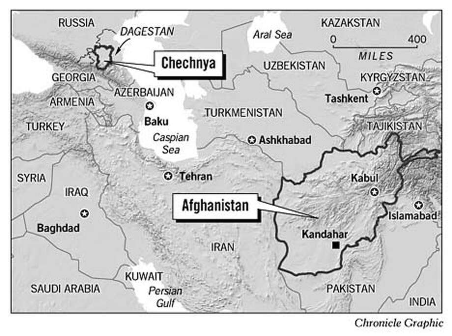 Chechnya. Chronicle Graphic