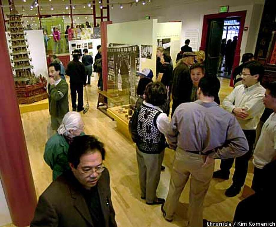 The Chinese Historical Society of America celebrated its grand opening in the old Julia Morgan-designed Chinatown YWCA on Clay Street. The museum includes a library, photo archive and learning center for monthly lectures, oral history seminars and K-12 curriculum development. Chronicle photo by Kim Komenich