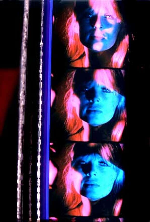 "Nico in Andy Warhol's ""The Chelsea Girls'' (1967):Film as voyeurism and cultural artifact. Photo courtesy of Andy Warhol Museum"