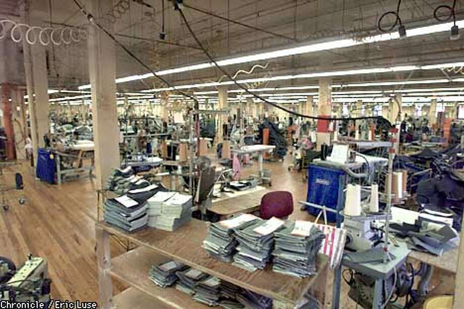 Levi Strauss Valencia Street plant opened in 1906 and continues today. BY ERIC LUSE/THE CHRONICLE Photo: ERIC LUSE