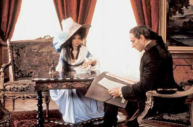 Elizabeth Berridge and F. Murray Abraham in AMADEUS DIRECTOR'S CUT Photo: HANDOUT