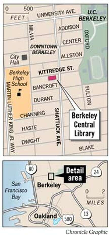 Berkeley Public Library. Chronicle Graphic