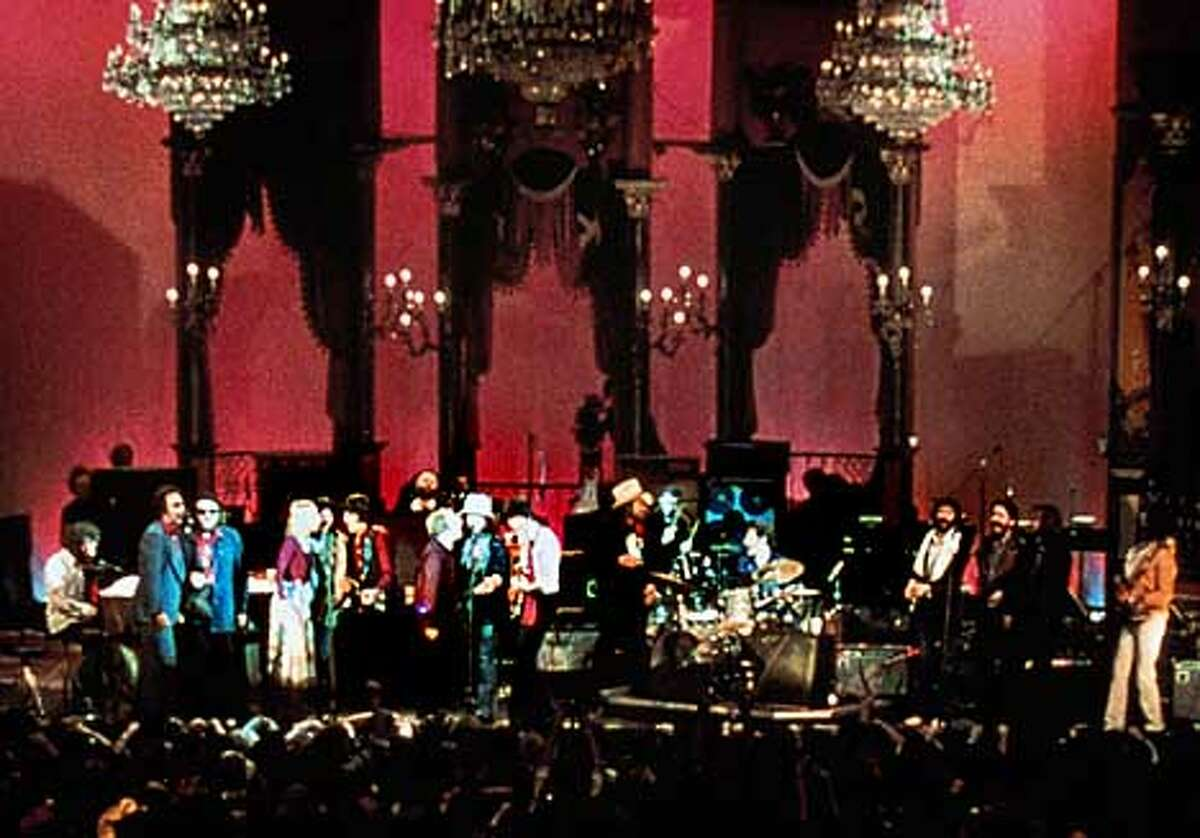 Bill Graham brought in chandeliers and sets from the opera to transform Winterland for the filmed concert.