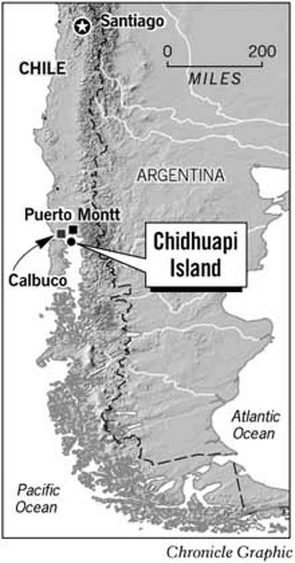 Chidhuapi Island. Chronicle Graphic