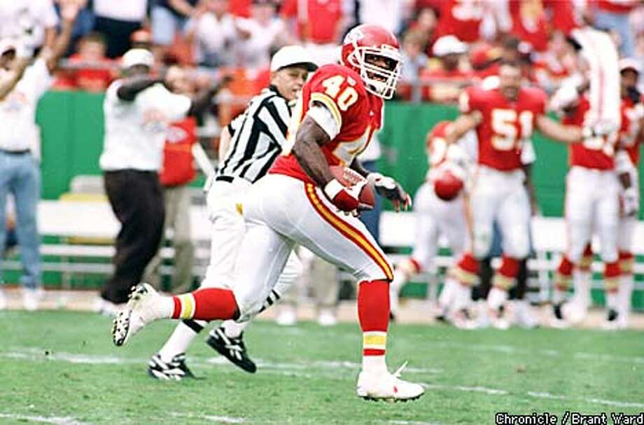 James Hasty is another Franklin alum who went on to the big leagues: A cornerback for years, he did time on the New York Jets, Kansas City Chiefs, and Oakland Raiders. Photo: BRANT WARD