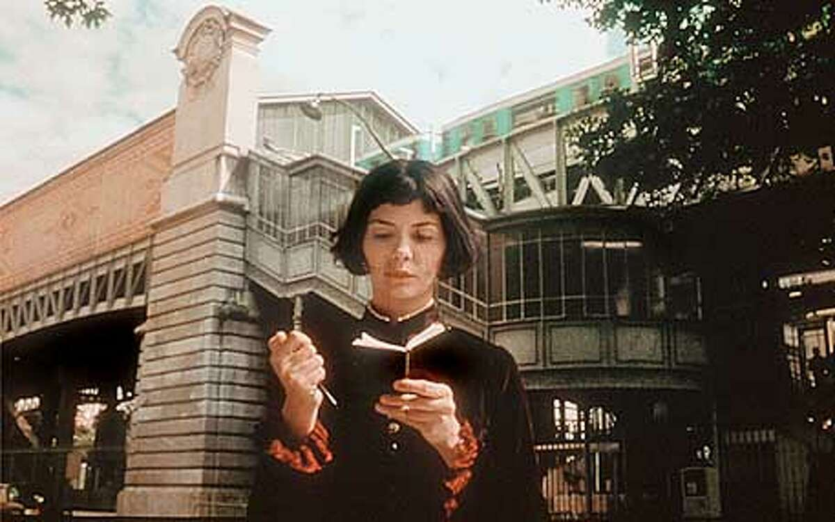 Audrey Tautou in Jean-Pierre jenet's Amnelie.